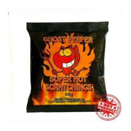 Ghost Pepper Καυτερά Πατατάκια Χοιρινού 80γρ!