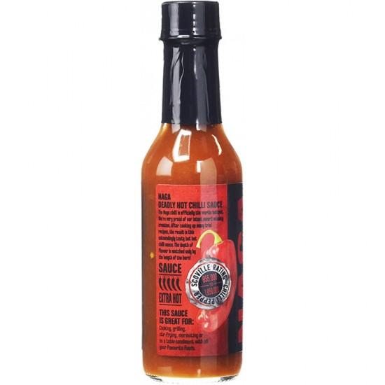 Σάλτσα Hot Headz Με Naga Bhut Jolokia Πιπεριά 147ml