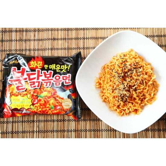 Samyang Υπερ- Καυτερά Noodles με Γεύση Κοτόπουλο! 140γρ