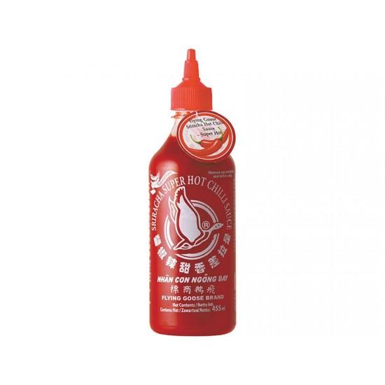Σριράτσα (Sriracha) Σάλτσα Τσίλι -  Πολύ Καυτερή! 455ml